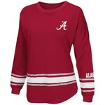 Colosseum Athletics™ Women's University of Alabama All Around Oversize Long Sleeve T-shirt