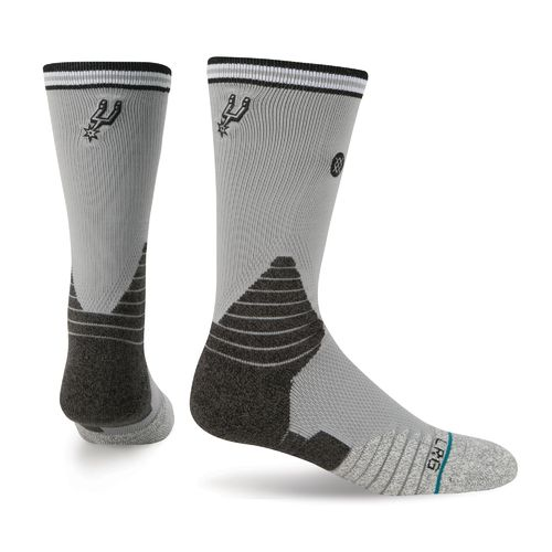 Stance Men's San Antonio Spurs Logo Crew Socks