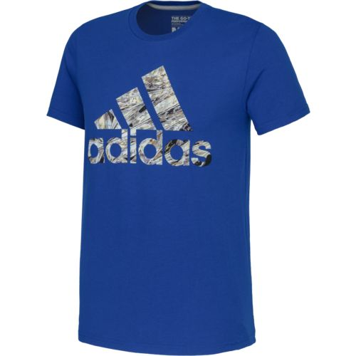 adidas Men's Chromaflage Diamond Badge of Sport T-shirt