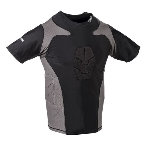 Century® Men's Short Sleeve Padded Compression Shirt