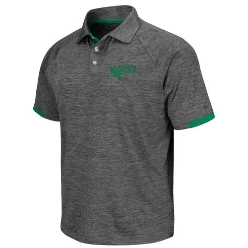 Colosseum Athletics Men's University of North Texas University Spiral Polo Shirt