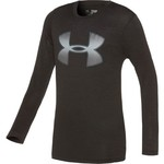 Under Armour Boys' Tech Novelty Big Logo Long Sleeve T-shirt - view number 1
