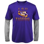 Gen2 Kids' Louisiana State University Bleachers Double Layer Long Sleeve T-shirt