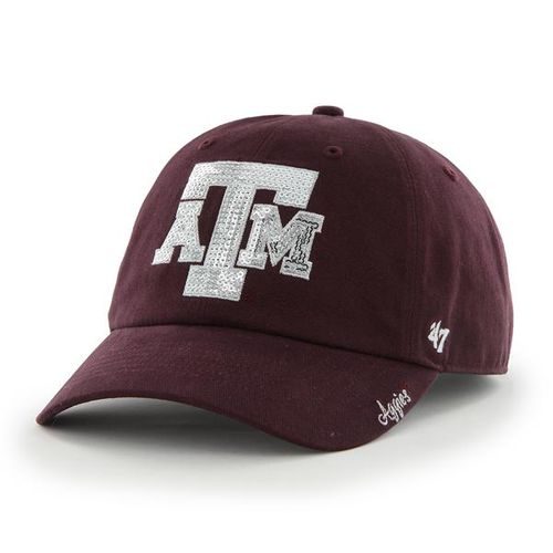 '47 Texas A&M University Women's Sparkle Cleanup Cap - view number 1