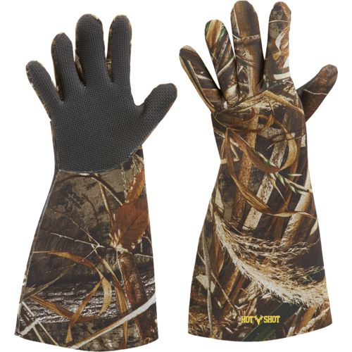 Display product reviews for Hot Shot Men's Basics 3 mm Neoprene Gloves