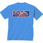 New World Graphics Women's University of Florida Madras T-shirt