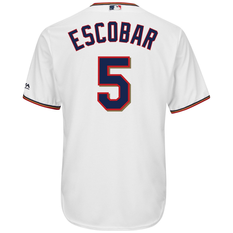 Majestic Men's Minnesota Twins Eduardo Escobar #5 Cool Base Replica Jersey - view number 2