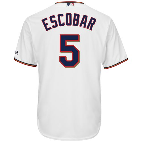 Majestic Men's Minnesota Twins Eduardo Escobar #5 Cool Base Replica Jersey