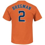 Majestic Men's Houston Astros Alex Bregman #2 T-shirt - view number 1