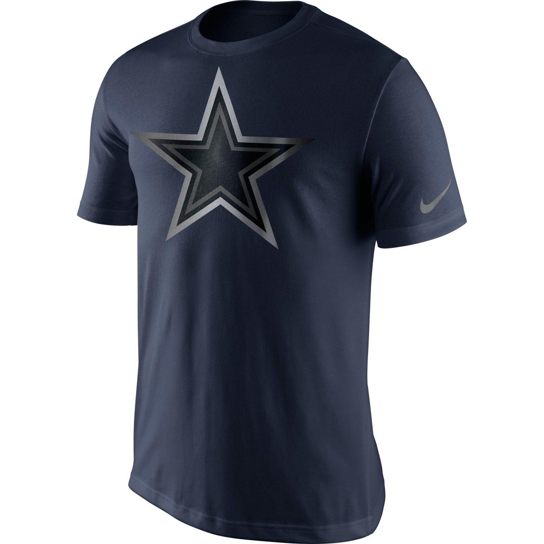 Nike Men's Dallas Cowboys Championship Drive Reflective T-shirt