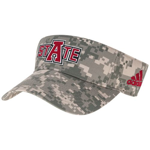 adidas™ Men's Arkansas State University Digital Camo Visor