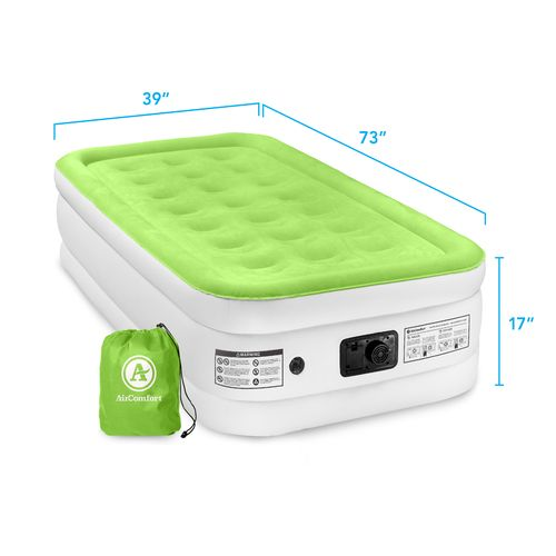 Air Comfort Dream Easy Twin-Size Raised Airbed with Built-In Electric Pump - view number 8