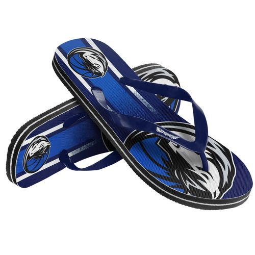 Forever Collectibles™ Adults' Dallas Mavericks Gradient Big Logo Flip-Flops