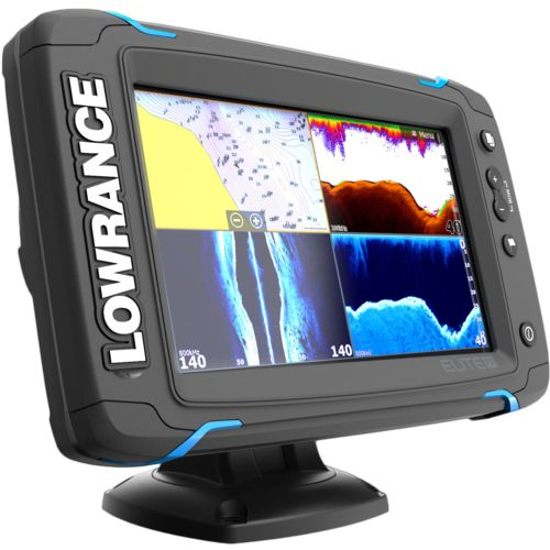 Lowrance Elite-Ti 7 Mid/High DownScan Fishfinder/GPS Combo