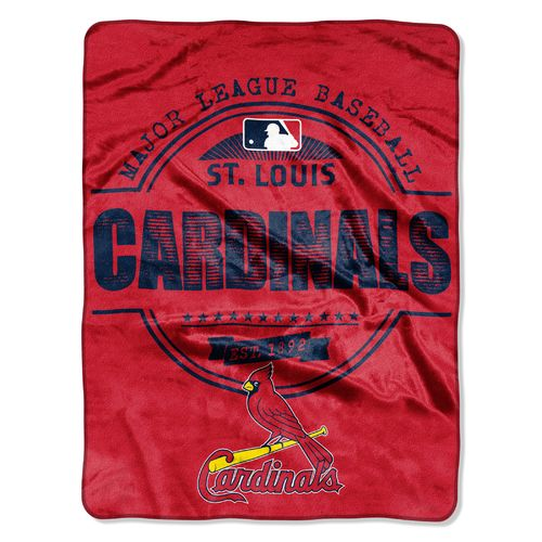 MLB St. Louis Cardinals Walk Off Micro Raschel