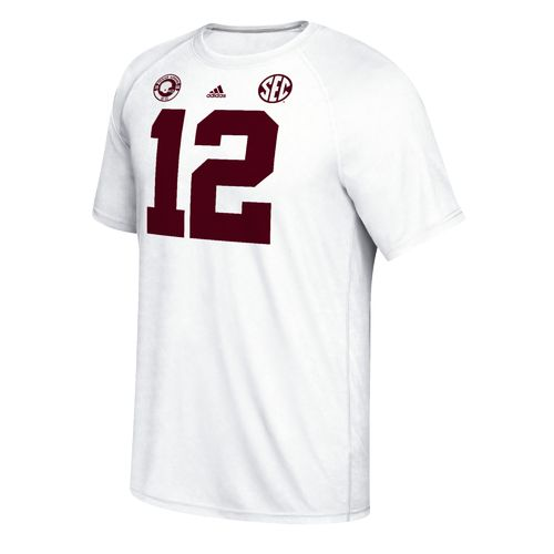 adidas™ Men's Texas A&M University 1956 Retro Football climalite® Ultimate Short Sleev