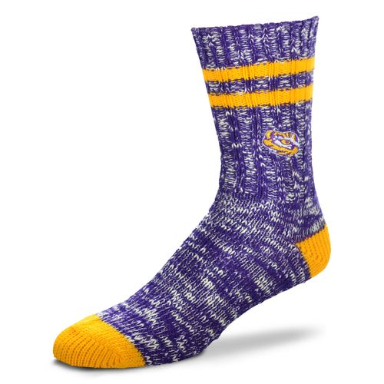 FBF Originals Men's Louisiana State University Alpine Socks