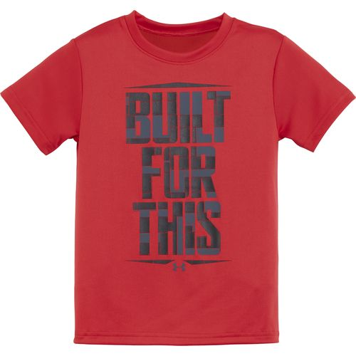 Under Armour Boys' Built For This Short Sleeve T-shirt