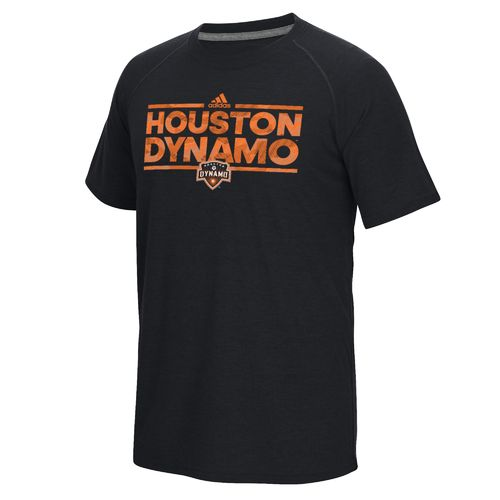 adidas Men's Houston Dynamo climalite Ultimate Short Sleeve T-shirt - view number 1