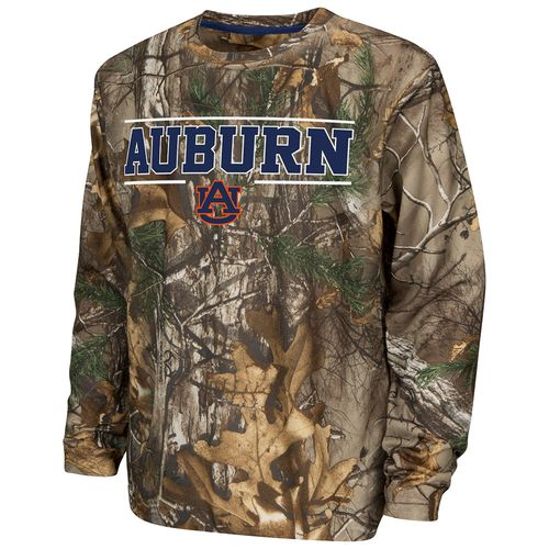 Colosseum Athletics™ Boys' Auburn University Pointer Long Sleeve Camo Shirt