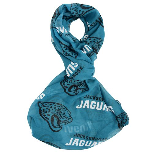 Forever Collectibles™ Women's Jacksonville Jaguars Team Logo Infinity Scarf