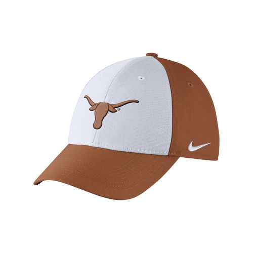 Nike Men's University of Texas Dri-FIT Wool Swoosh Flex Cap