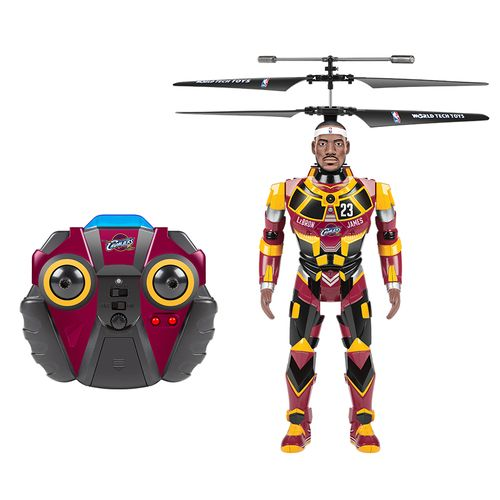 World Tech Toys Cleveland Cavaliers LeBron James Robojam RC Helicopter