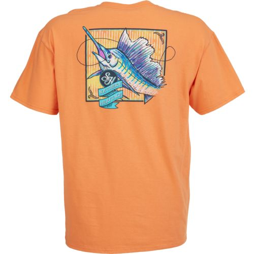 Southern Heritage Men's Rainbow Marlin T-shirt