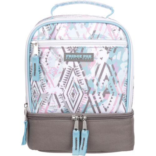 Fridge Pak Girls' Printed Lunch Bag