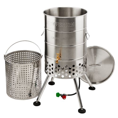 Display product reviews for Outdoor Gourmet Propane 80 qt Crawfish Keg with Jet Burner