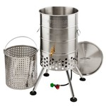 Outdoor Gourmet Propane 80 qt Crawfish Keg with Jet Burner - view number 1