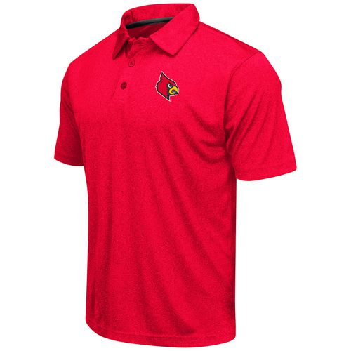 Colosseum Athletics™ Men's University of Louisville Academy Axis Polo Shirt