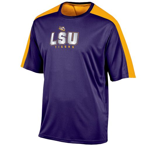 Champion™ Men's Louisiana State University Colorblock T-shirt