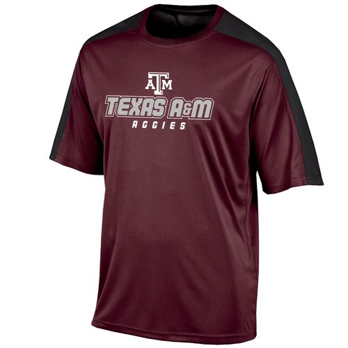 Champion™ Men's Texas A&M University Colorblock T-shirt