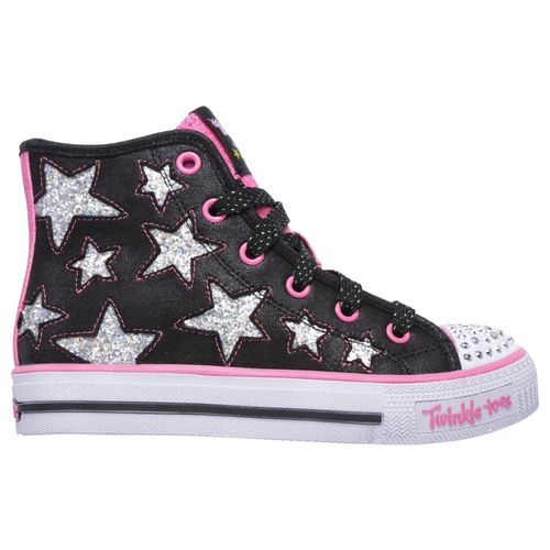 SKECHERS Girls' Twinkle Toes Shuffles Shoes