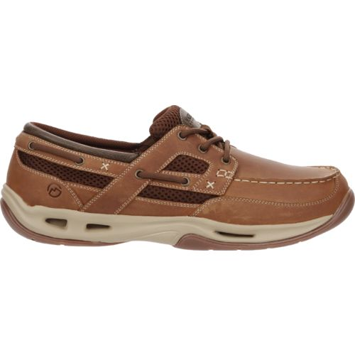 Display product reviews for Magellan Outdoors Men's Waterline Vented Boat Shoes