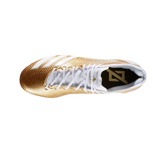 adidas Men's Adizero 5-Star 6.0 GOLD Football Cleats - view number 4