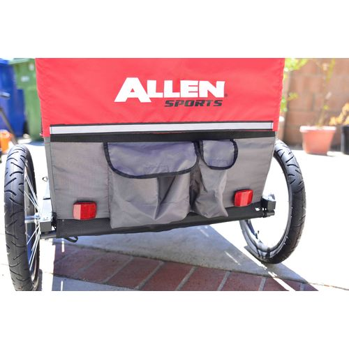Allen Sports 2-Child Bicycle Trailer - view number 10