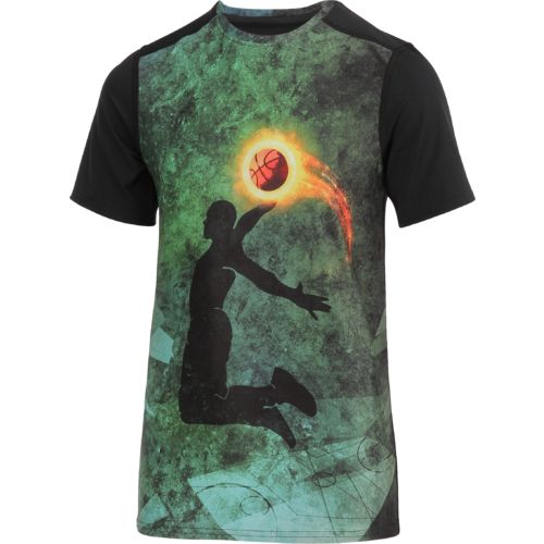 BCG Boys' Basketball Fire Short Sleeve T-shirt - view number 1