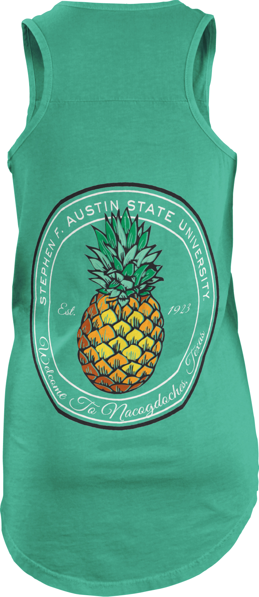 Three Squared Juniors' Stephen F. Austin State University Charleston Short Sleeve T-shirt
