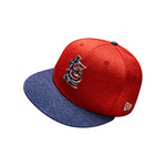 New Era Men's St. Louis Cardinals Stars and Stripes 2T '17 59FIFTY Cap - view number 8