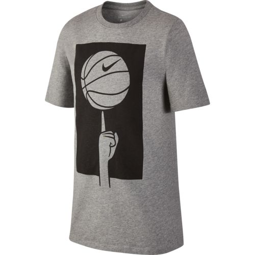 Nike Boys' Dry Spinning Basketball Short Sleeve T-shirt