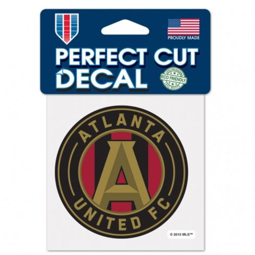 WinCraft Atlanta United FC 4 in x 4 in Perfect Cut Decal