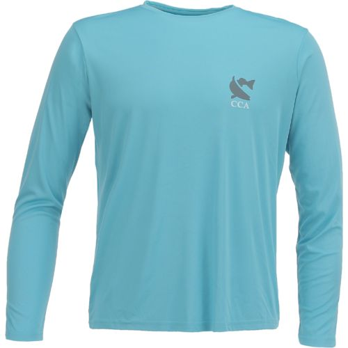 CCA Men's Performance Painted Redfish Long Sleeve T-shirt