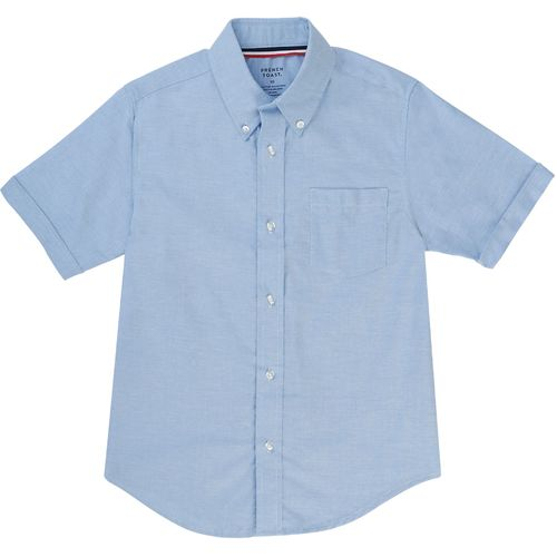 French Toast Boys' Short Sleeve Oxford Uniform Shirt