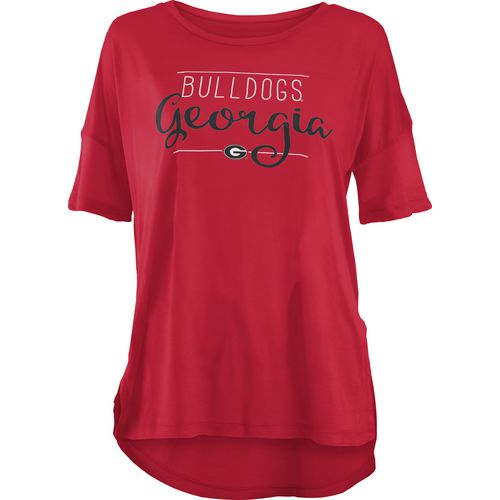Three Squared Juniors' University of Georgia Script T-shirt