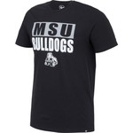 '47 Mississippi State University Stacked Splitter T-shirt - view number 3
