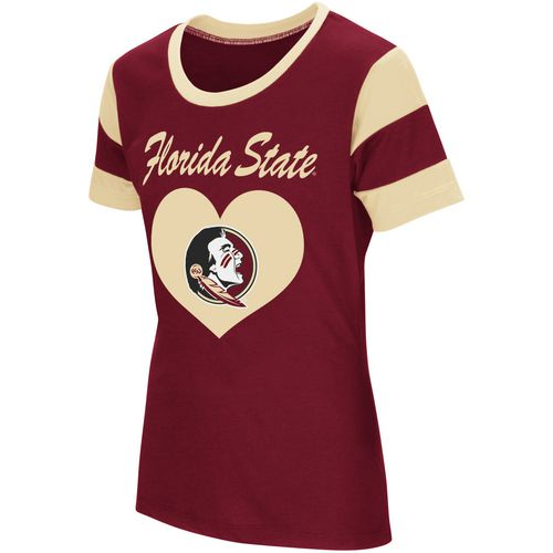 Colosseum Athletics Girls' Florida State University Bronze Medal Short Sleeve T-shirt - view number 1