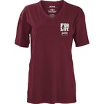 Three Squared Juniors' Mississippi State University Team For Life Short Sleeve V-neck T-shirt - view number 2