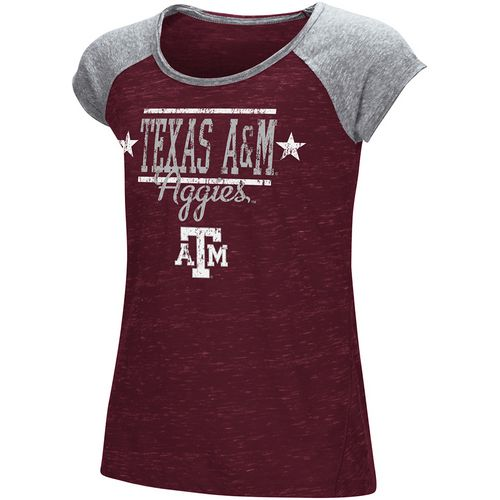 Colosseum Athletics Girls' Texas A&M University Sprints T-shirt